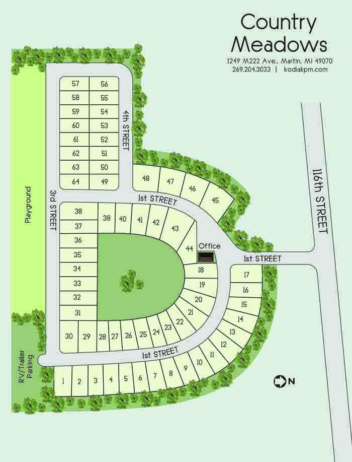 Country Meadows Site Plan